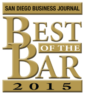 Jeremy Evans named to the 'Best of the Bar 2015!'