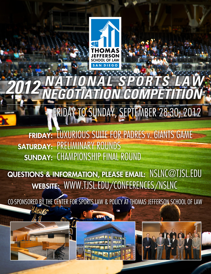 Excitement Builds for TJSL Sports Law Negotiation Competition
