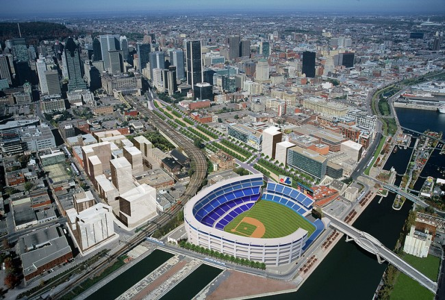 Major League Baseball (MLB) back in Montreal via Tampa Bay?