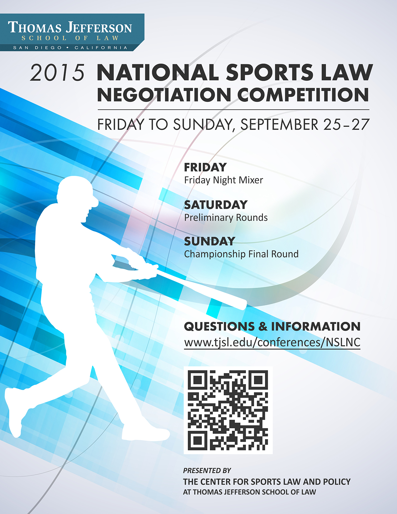 2015 National Sports Law Negotiation Competition