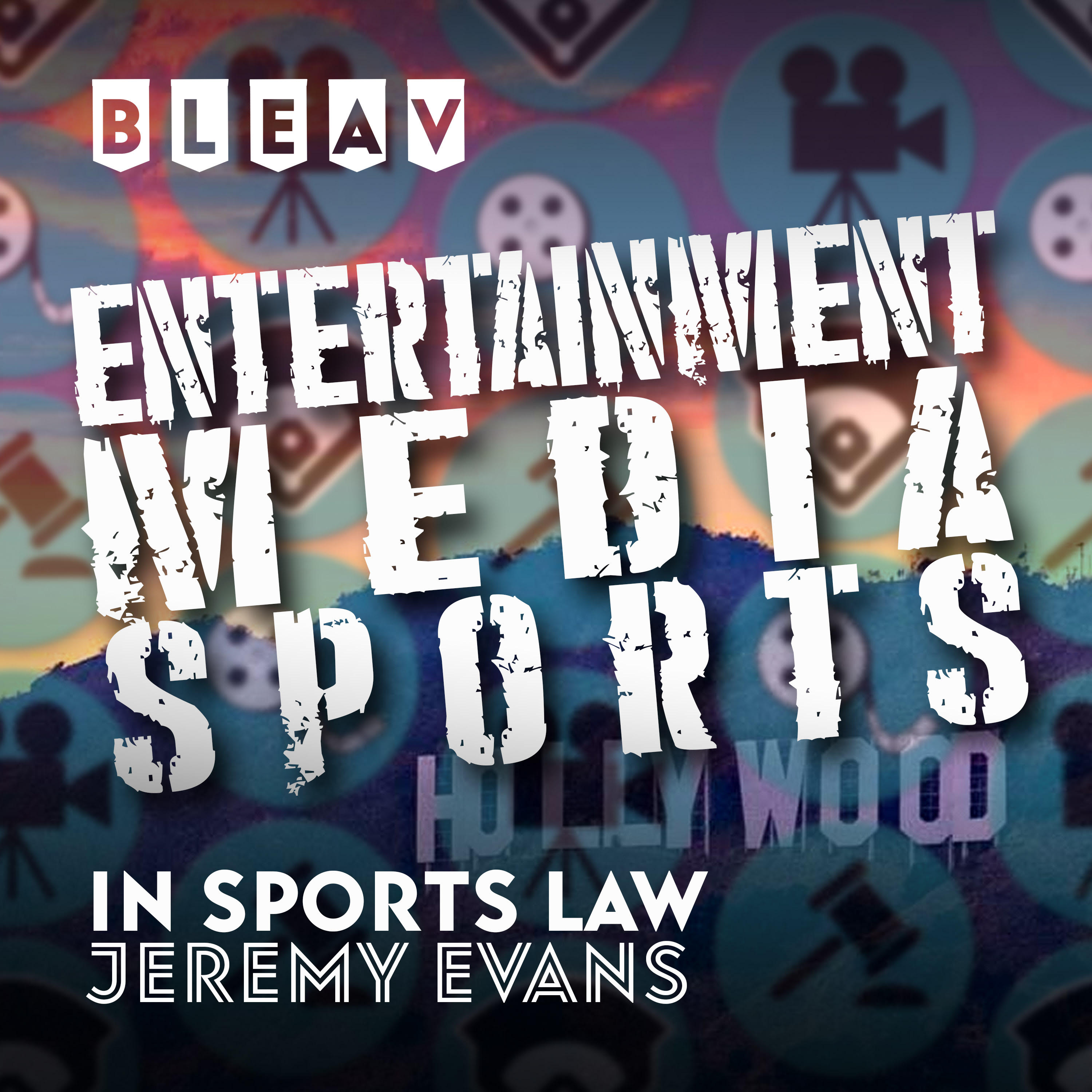 Jeremy Evans podcast 'Bleav in Sports Law' ranked no. 1 sports law podcast in the World